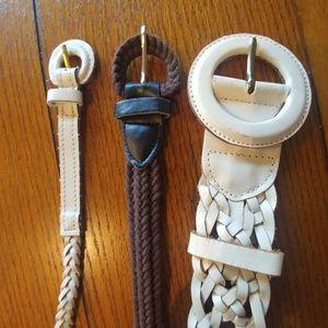 Braided Belt Trio